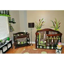 Frog Baby Bedding Crib Sets 10pc Frog Nursery Crib Bedding Set Brown Green