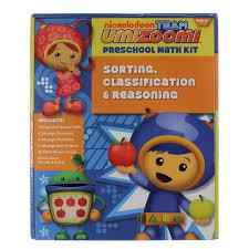 team umizoomi sorting classification u0026 reasoning pre math kit