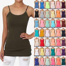 womens neon tank tops ebay