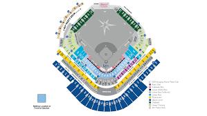 stadium floor plan rays seating map tampa bay rays