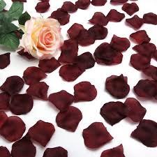 Silk Rose Petals Best Quality Ivory 1000 Pcs Silk Rose Petals Wedding Party