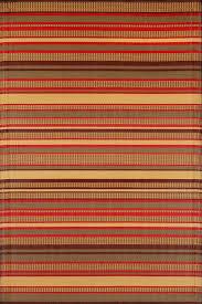 Stripe Outdoor Rug Amazon Com Mad Mats Stripes Indoor Outdoor Floor Mat 5 By 8 Feet