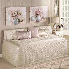 bedding trellis piece daybed comforter sets in grey for chic