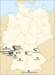 map us army bases list of united states army installations in germany