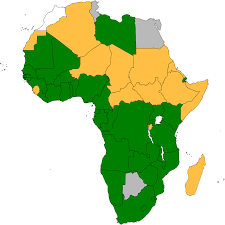 Map Of Uganda Africa by Ratification Table Protocol To The African Charter On Human And