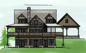 Lakefront Home Floor Plans House Plans For Views House Plans