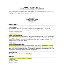 resume for retail sales associate objective retail sales associate skills resume retail sales skills resume