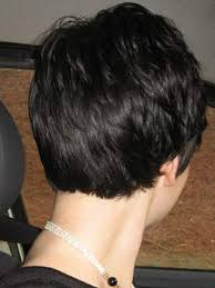 femail shot hair styles seen from behind best 25 images of short haircuts ideas on pinterest images of