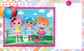 Customized Birthday Invitation Cards Free Free Customizable Invitation For Lalaloopsy Party Glad If You