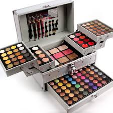 makeup artist box miss professional makeup set in aluminum box three layers