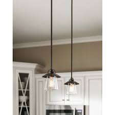 antique kitchen lights styled in a mission bronze finish and accented with an antique