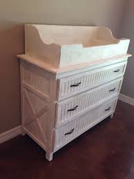 Used Changing Tables The Rustic Acre Custom Built Rustic Baby Bed X And Bead Board