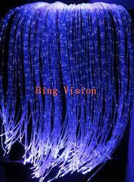 fiber optic light strands twinkle fiber optic curtain water fall effect 300 strands high
