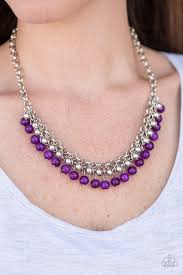 purple necklace chain images Paparazzi necklace coyly colorful purple debs jewelry shop jpg