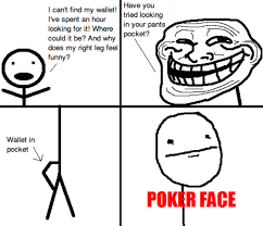 Pokerface Meme - poker face meme imagens poker descubierto reglas