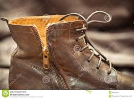 aged leather boots vintage style stock image image 39529067