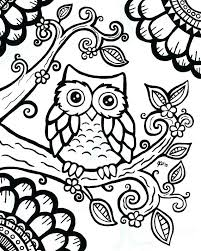 Owl For Coloring Cute Owl Coloring Pages Home Awesome Color Owls Owl Color Pages