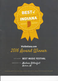 Indiana where to travel in august images Ribberfest blues festival jpg