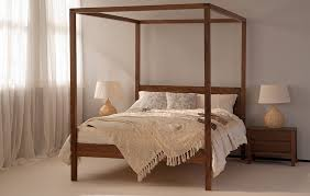Four Post Bed by Orchid Four Poster Bed Solid Wood Natural Bed Company