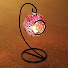 how to make home decorative items mosaic hanging lantern 4 colors candle lantern tealight candle