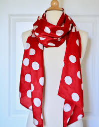 red scarf silk scarf for womens gift for her hand painted silk
