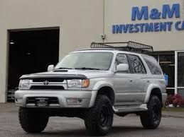 used 2001 toyota 4runner 2001 toyota 4runner in oregon for sale 28 used cars from 6 980