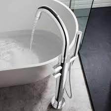 crosswater kai lever floorstanding thermostatic bath shower mixer