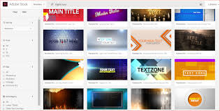 motion graphics templates in adobe stock everybody sing adobe