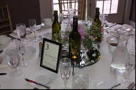 wine bottle wedding centerpieces magnificent centerpieces with wine bottles astounding wedding