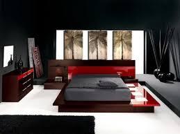chambre à coucher blanc et noir cuisine modern