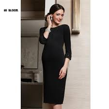 2017 fashion brand new style pregnant women evening party dress