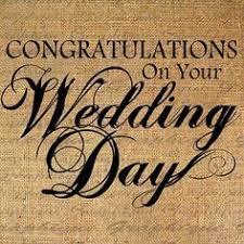 congratulations on your wedding day congrats on your wedding day more than words congratulations