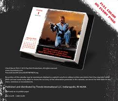 Studio Trends 30 Desk by Chuck Norris 2016 Day At A Time Box Calendar Trends
