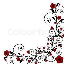 vector illustration of a floral ornament stock vector colourbox