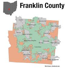 Franklin Ohio Map by Presidential Politics Divides Franklin County Suburb Ohio Matters
