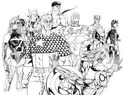 marvel superhero coloring pages printable printable of marvel