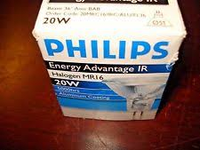 philips halogen reflector l 12v 20w 6435 philips halogen light bulbs 20w camera ebay