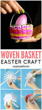 woven easter basket craft easy peasy and fun
