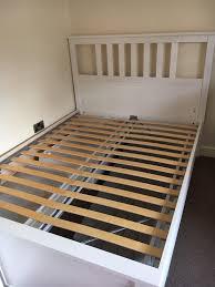 Hemnes Bed Frame by Ikea Hemnes Bed Frame Double In Hawick Scottish Borders Gumtree