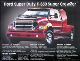 Ford 650 Price 2001 Ford F 650 Super Crewzer Image