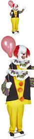 Life Size Posable Skeleton Halloween Halloween 170094 Life Size Animated Pennywise Decoration It