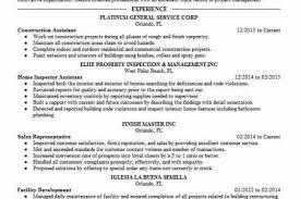 construction inspector resume oil field supervisor resume examples customer care specialist