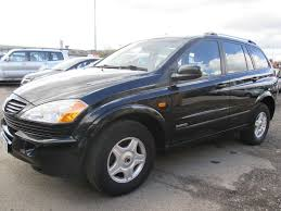 ssangyong kyron 2 0 s td manual space black 2006 in hyde