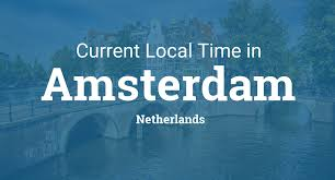 Where Is Holland On The Map Current Local Time In Amsterdam Netherlands