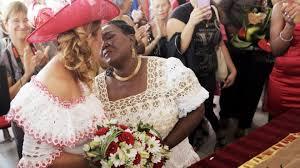 mariage congolais mariage rosemonde et myriam premières mariées de