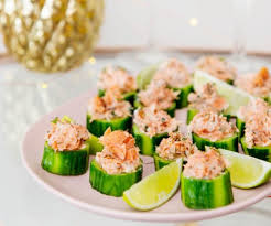 cucumber canapes salmon and cucumber canapes lim