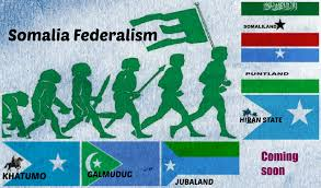 Map Of Somalia Tribal Federation The Balkanization Of Somalia