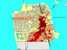 san jose ethnicity map mission district san francisco