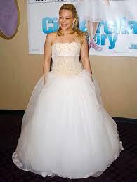 hilary duff wedding dress montgomery hilary duff s hilary duff