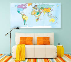 Detailed World Map Large Detailed Map Of The World Geography World Map Push Pin
